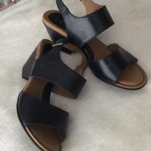 boc Leather Heeled Sandals